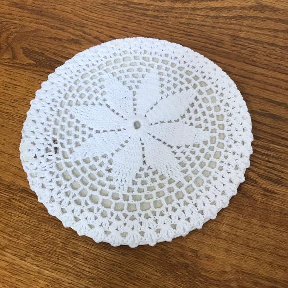 Vintage Other - Boho Crochet Potholder
